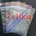 7 X 10 cm Ziplock Zipper Zip Lock Baggies Resealable Poly Plastic Bags