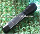 Solar rechargeable 8W LED 1600mAh, 60,000hours solar led torch,solar energy torch light