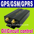 Realtime GPS/GSM/GPRS Car Tracker oil /circuit control O-607