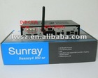 2012 new Sunray4 800 hd se sr4 with wifi build satellite receiver