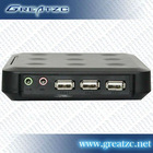 Cheapest Fanless PC,Embeded WIN CE5 PC Station,With 3 USB Ports Thin Client