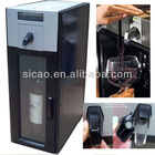 First Patent Machina for Home in China, Chill, Pour and Automatic Vacuum for 1 Bottle from Single System in Chain Wine Keeper