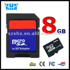 8gb mobile phone micro sd memory card