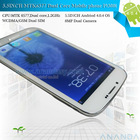 I9300I Note 2 mtk 6577 dual core android mobile phone 1g ram