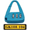 luggage lock (code padlock,security lock)