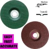 Flexible Green Cutting Stainless Steel Discs Blades