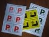 pvc traffic sign