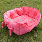 Super warm and confortable plush pet bed
