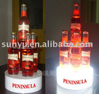 LED acrylic wine display
