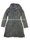 The hottest selling fashion women long thin coat / jacket in Europe
