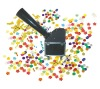 spray color paper electric control confetti machine