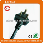 High Quality South African Standard 3 pin Power Cord