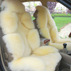 Soft lambskin fur car seat covers