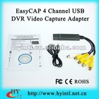 EasyCAP 4 Channel USB DVR video audio capture adapter