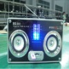 Stereo Speaker with Card Reader with FM radio, SD/MMC card support