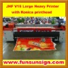 JHF VISTA 3200mm Konica head Flex Printing Machine