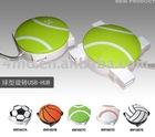 4 ports usb hub tennis gift