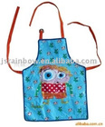 100% PVC printed kid apron