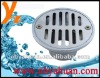 zinc floor drain with strip-hole-South america style