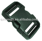 Plastic side release curved double adjuster insert buckle (HL-A005)