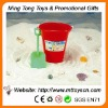 multifunction beach toy plantable with shovel plastic toy bucket