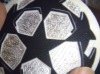 UEFA Champions League self-adhesive 3D flock patches