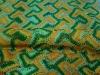 100%Polyester Yarn Dyed Crochet Knit Fabric Fashion