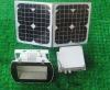 Portable 20W LED Solar energy power lighting kit