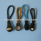 custom plastic zipper puller