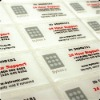 adhesive sticker and label printing