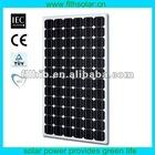 200W High Efficiency Monocrystalline PV Panel