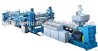 Screw plastic extruding machine
