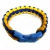 Charming braided bracelet