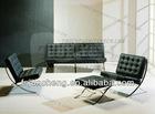 Leather sofas, sofa, barcelona sofa set,barcelona chair JS-C235