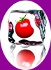 3d lenticular fridge magnet with fruit