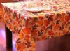 100% polyester tablecloth,transfer printed table cloth