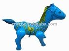 Inflatable pony toy