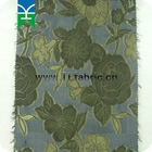 Flower design jacquard silk fabric for garements