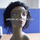 Htot Sell Brizilian Jerry Curl Human Hair Full Lace Wigs