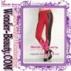 Red hot sale leggings