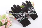 Knitted touch screen glove for iphone and Ipad