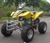 200CC 4-stroke air-cooled 4 forward / 1 built-in reverse gear, manual-clutch ATV