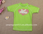 UPF50 Fun In The Sun Short Sleeve Surfing Clothing For Girls