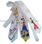 Sublimation tie-white-MT-T007
