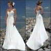 WDX6-BWD0105 Custom-made 2011 sexy Bridal wedding gowns / wedding dresses/Bridesmaid Dresses any size color/ Floor-Length