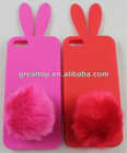 Fashion silicon case for iphone 5