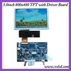 Driver board with vga, video