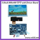 Driver board with vga, video