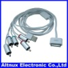 HD VIDEO TV AV COMPONENT CABLE for Apple iphone 4 4s ipad ipod 1.8m CP076