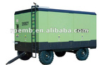High efficiency Diesel engine drive movable screw compressor 179SCY